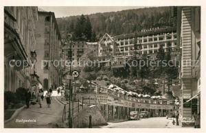AK / Ansichtskarte Bad Gastein an der Tauernbahn Hotel Bellevue Kat. Bad Gastein