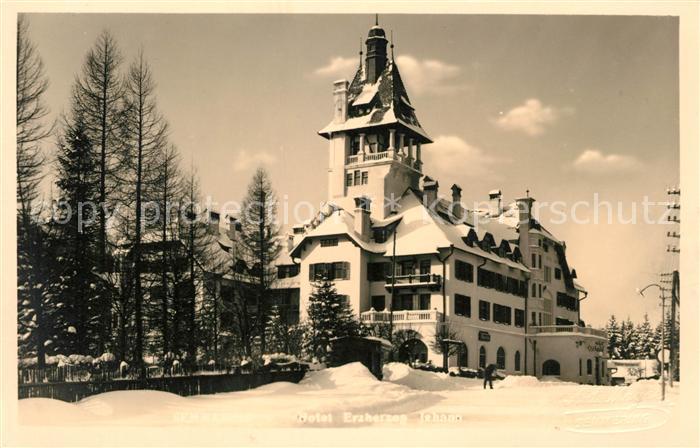 AK / Ansichtskarte Semmering Niederoesterreich Hotel Erzherzog Johann Kat. Semmering