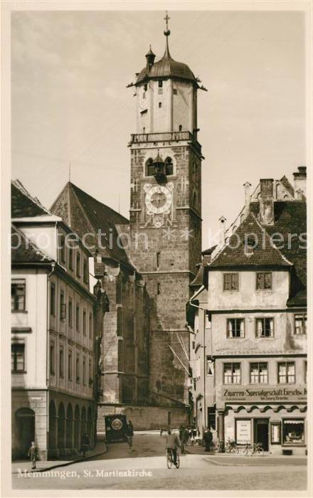 AK / Ansichtskarte Memmingen St Martinskirche Altstadt Kat. Memmingen
