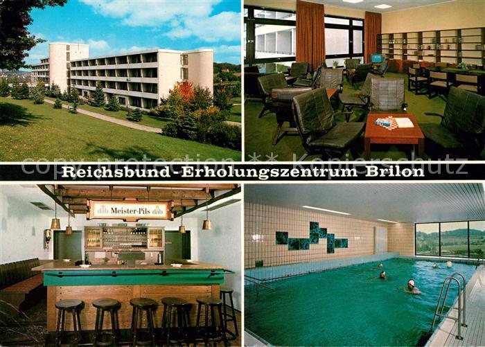 AK / Ansichtskarte Brilon Reichsbund Erholungsheim  Kat. Brilon
