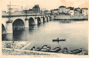 AK / Ansichtskarte Roanne Loire Le Pont sur la Loire Kat. Roanne