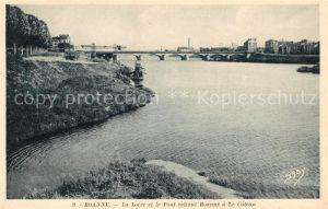 AK / Ansichtskarte Roanne Loire La Loire et le Pont reliant Roanne a Le Coteau Kat. Roanne