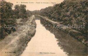 AK / Ansichtskarte Roanne Loire Canal de Roanne a Digoin Kat. Roanne