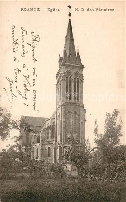 AK / Ansichtskarte Roanne Loire Eglise Notre Dame des Victoires Kat. Roanne