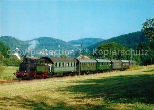 AK / Ansichtskarte Eisenbahn Dampf Tenderlokomotive Nuernberg Muggendorf  Kat. Eisenbahn