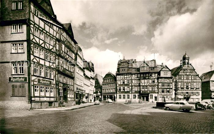 AK / Ansichtskarte Butzbach Marktplatz Kat. Butzbach