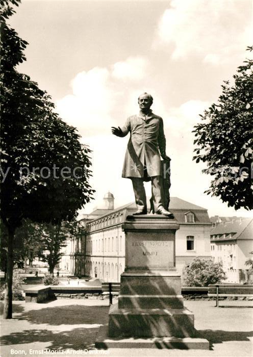 AK / Ansichtskarte Bonn Rhein Ernst Moritz Arndt Denkmal Kat. Bonn