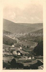 AK / Ansichtskarte Bad Herrenalb Gaistal Kat. Bad Herrenalb