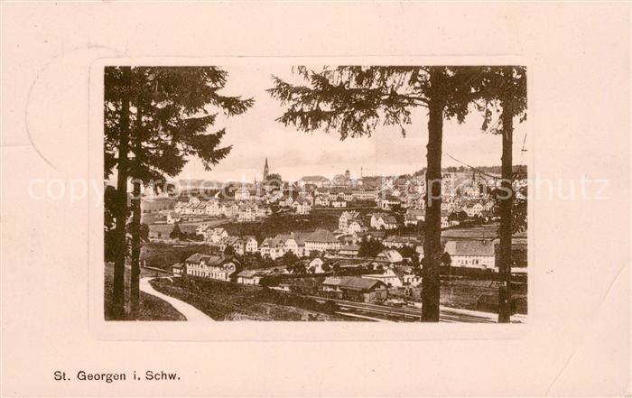 AK / Ansichtskarte St Georgen Schwarzwald  Kat. St. Georgen im Schwarzw.