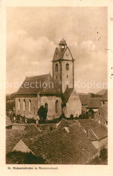 AK / Ansichtskarte Niederrotweil St. Michaelskirche Kat. Vogtsburg im Kaiserstuhl