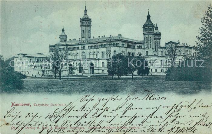 AK / Ansichtskarte Hannover Technische Hochschule Kat. Hannover