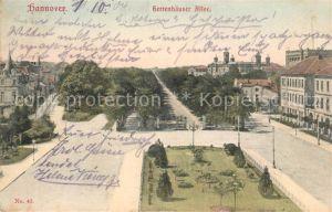 AK / Ansichtskarte Hannover Herrenhaeuser Allee Schloss Park Kat. Hannover