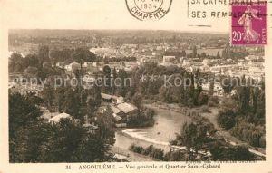 AK / Ansichtskarte Angouleme Quartier Saint Cybard Kat. Angouleme