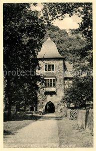AK / Ansichtskarte Schaumburg Rinteln Schloss Schaumburb Burgtor Kat. Rinteln