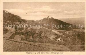AK / Ansichtskarte Paschenburg Deckbergen Wesergebirge Kat. Rinteln
