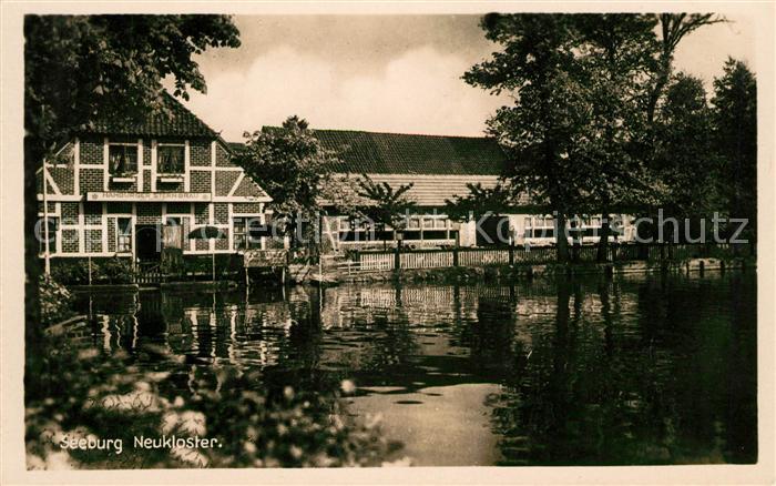 AK / Ansichtskarte Neukloster Niederelbe Gasthaus zu Seeburg Kat. Buxtehude
