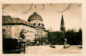 AK / Ansichtskarte Posen Poznan Partie an der Paulikirche Kat. Poznan