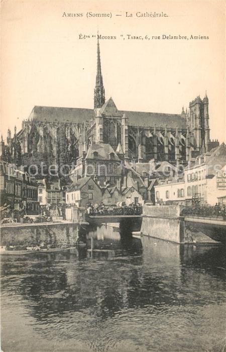 AK / Ansichtskarte Amiens La Cathedrale Kat. Amiens