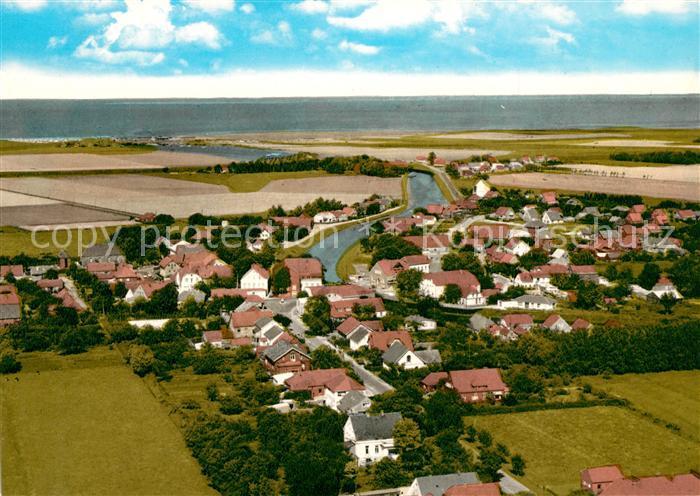 AK / Ansichtskarte Carolinensiel Harlesiel Ostfriesland Fliegeraufnahme Kat. Wittmund
