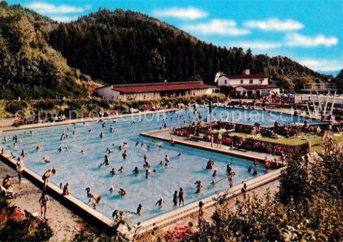 AK / Ansichtskarte Lindenfels Odenwald Schwimmbad Kat. Lindenfels