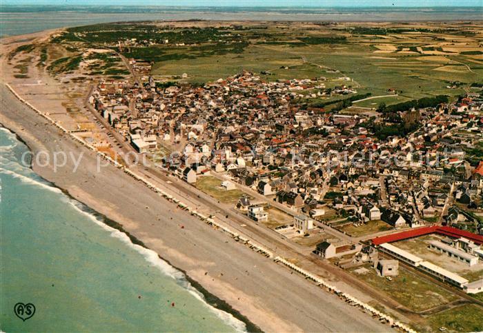 AK / Ansichtskarte Cayeux sur Mer Fliegeraufnahme Kueste Kat. Cayeux sur Mer
