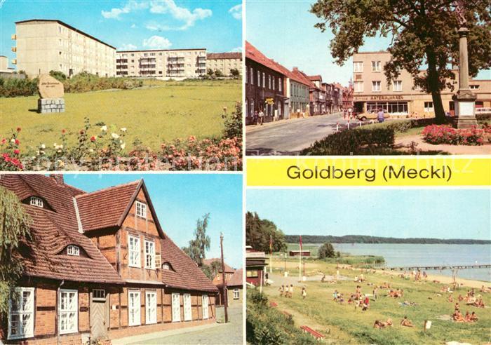AK / Ansichtskarte Goldberg Mecklenburg Kreisheimatmuseum See  Kat. Goldberg Mecklenburg
