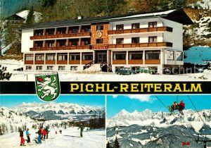 AK / Ansichtskarte Pichl Ennstal Jugendgaestehaus Steiner Reiteralm Winter