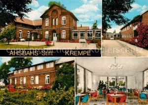 AK / Ansichtskarte Krempe Holstein Ahsbahs Stift Kat. Krempe