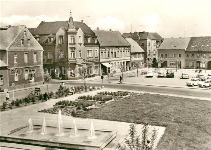 AK / Ansichtskarte Elsterwerda Marktplatz Kat. Elsterwerda