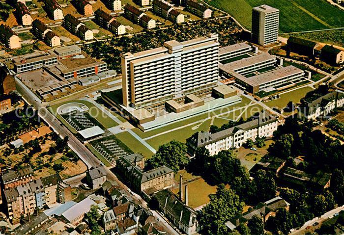 AK / Ansichtskarte Frankfurt Main Krankenhaus Fliegeraufnahme Kat. Frankfurt am Main