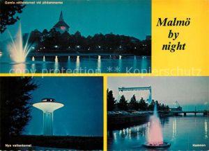 AK / Ansichtskarte Malmoe Hamnen Nya vattentornet  Kat. Malmoe