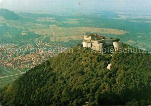 AK / Ansichtskarte Neuffen Burg Hohen Neuffen Fliegeraufnahme Kat. Neuffen