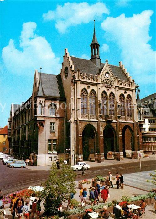 AK / Ansichtskarte Erfurt Rathaus Kat. Erfurt