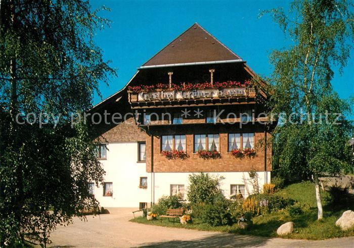 AK / Ansichtskarte Raitenbuch Lenzkirch Gasthaus Pension Gruener Baum Kat. Lenzkirch