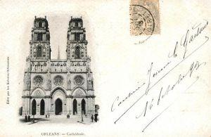 AK / Ansichtskarte Orleans Loiret Cathedrale Kat. Orleans