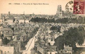 AK / Ansichtskarte Orleans Loiret Vue prise de l`Eglise Saint Marceau Kat. Orleans