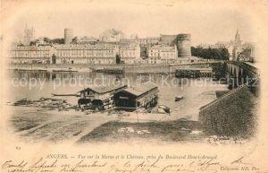 AK / Ansichtskarte Angers la Maine et le Chateau Kat. Angers