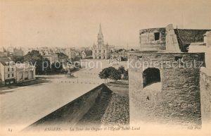 AK / Ansichtskarte Angers Tour des Orgues et Eglise Saint Laud Kat. Angers