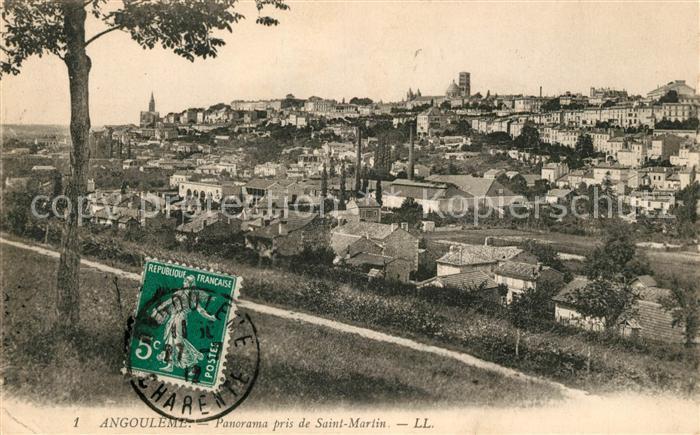 AK / Ansichtskarte Angouleme Vue pris du Saint Martin Kat. Angouleme