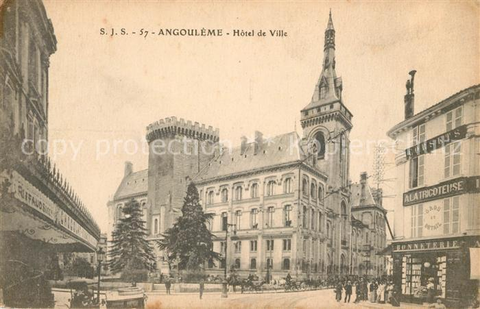 AK / Ansichtskarte Angouleme Hotel de Ville Kat. Angouleme