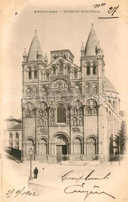 AK / Ansichtskarte Angouleme Cathedrale Saint Pierre Kat. Angouleme