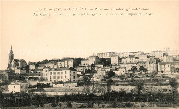 AK / Ansichtskarte Angouleme Faubour Saint Auson  Kat. Angouleme