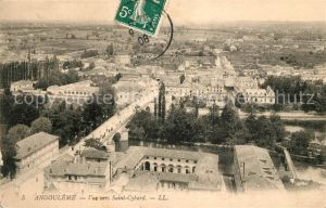 AK / Ansichtskarte Angouleme Vue vers Saint Cybard Kat. Angouleme