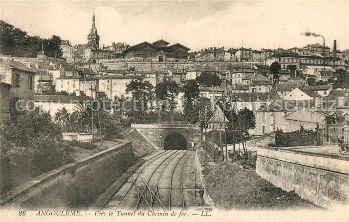 AK / Ansichtskarte Angouleme Vers le Tunnel du Chemin Kat. Angouleme