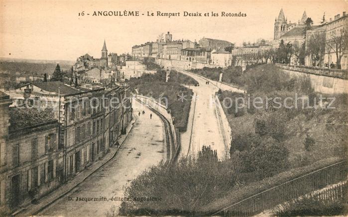 AK / Ansichtskarte Angouleme Le Rempart Desaix et les Rotondes Kat. Angouleme