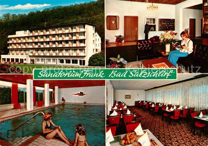 AK / Ansichtskarte Bad Salzschlirf Sanatorium Frank Kat. Bad Salzschlirf