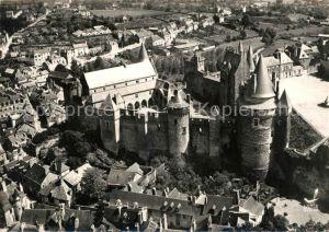 AK / Ansichtskarte Vitre d Ille et Vilaine Chateau feodal Vue aerienne Kat. Vitre