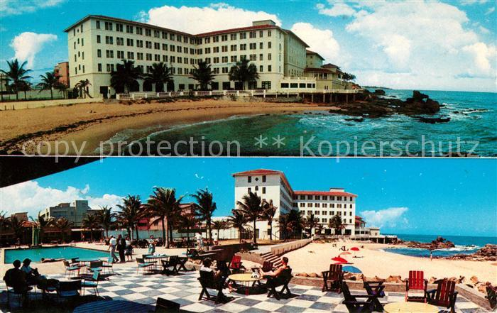 AK / Ansichtskarte San Juan Puerto Rico Condado Beach Hotel Swimming Pool Kat. San Juan