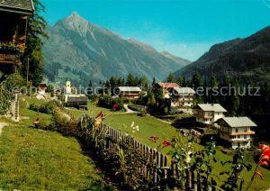 AK / Ansichtskarte Brandberg Tirol Teilansicht Erholungsort gegen Brandbergkolm Zillertaler Alpen Kat. Brandberg