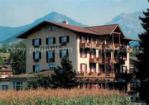 AK / Ansichtskarte Aeschi BE VCH Hotel Friedegg Alpenblick